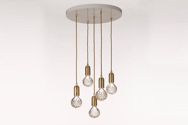 Crystal Bulb Chandelier Property Furniture