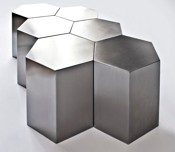Hex Side Table Property Furniture - Hex coffee table