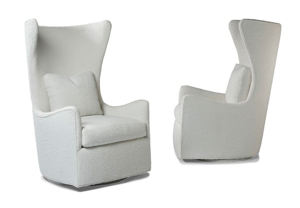Superbe Request A Quote. Upholstered Armchair With Swivel ...