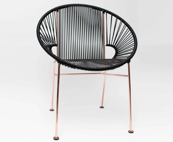 Acapulco Chair Black And Copper 28 Images Modern Acapulco Outdoor Lounge Chair Mode