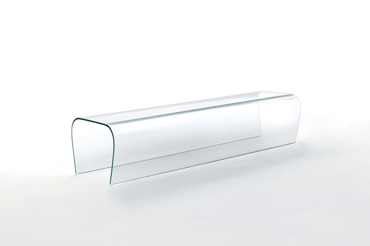 Bent Glass Bench Property Furniture