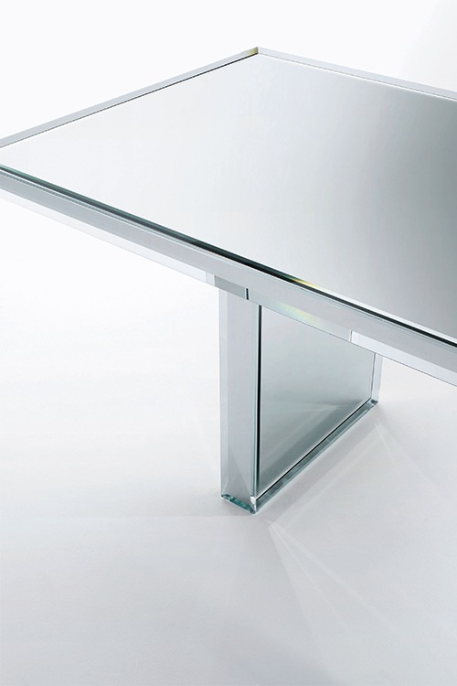 Prism Mirror Dining Table Property Furniture