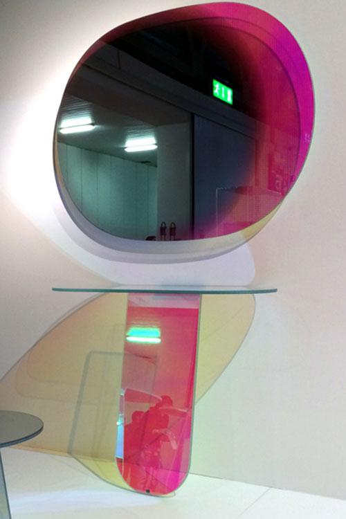 Shimmer mirror