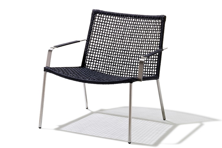 Straw Rope Lounge Chair ...
