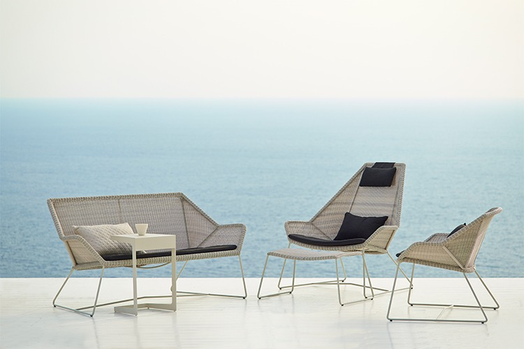 Breeze High Back Lounge Chair Property Furniture