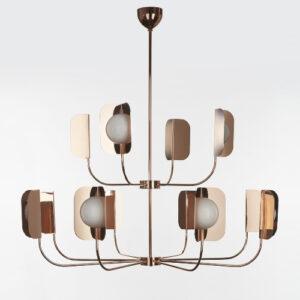 leaf-chandelier
