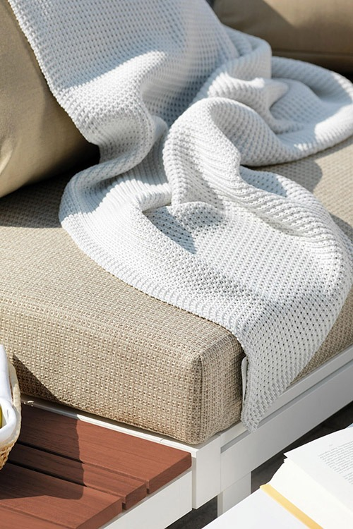 Knitted Outdoor Blanket Property Furniture