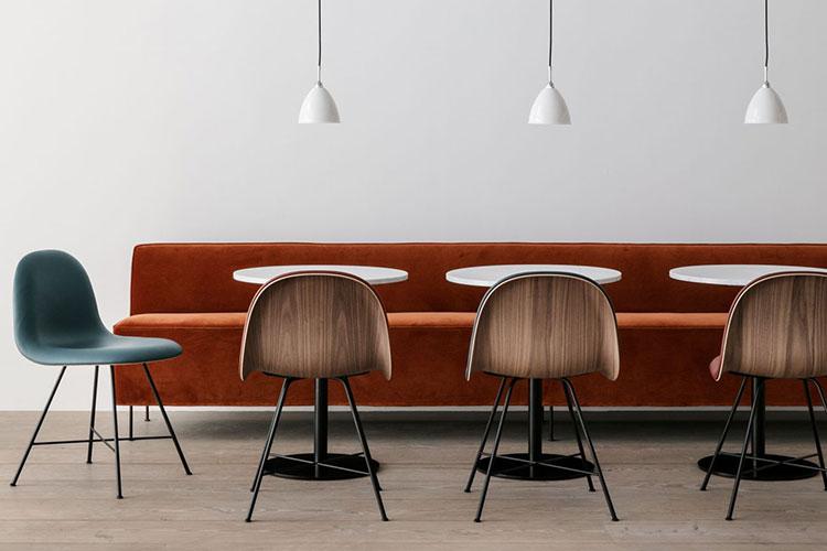Admirable Modern Line Dining Sofa Property Furniture Machost Co Dining Chair Design Ideas Machostcouk
